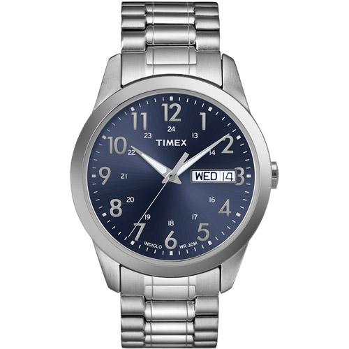 Timex Men's South Street Sport Watch, Silver-Tone ...