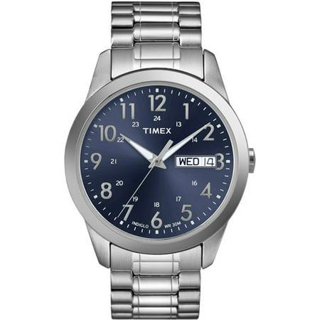 timex men s sport watches best watchess 2017 timex men s south street sport watch silver tone stainless steel