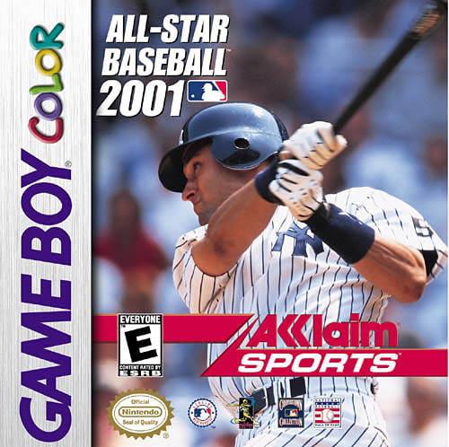 Image of All Star Baseball 2001 GBC