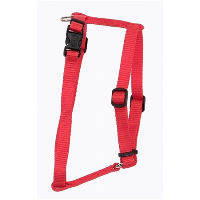 3-8X18 Adjustable Comfort Harness Red