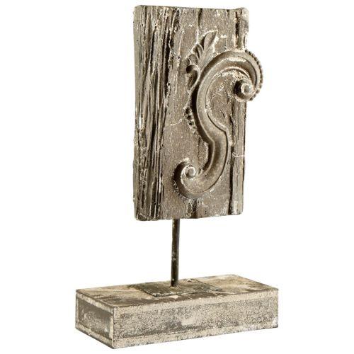 Cyan Design Arleen Sculpture Arleen 20.25 Inch Tall Cement, Wood Iron Sculpture by Cyan Design