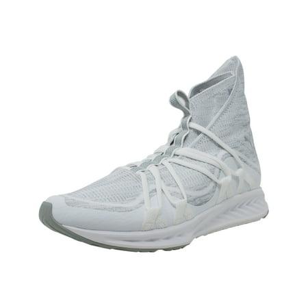 c03b581f8bbb1a PUMA - Puma Men s Ignite Evoknit Fold White   Quarry Mid-Top Training Shoes  - 9.5M - Walmart.com