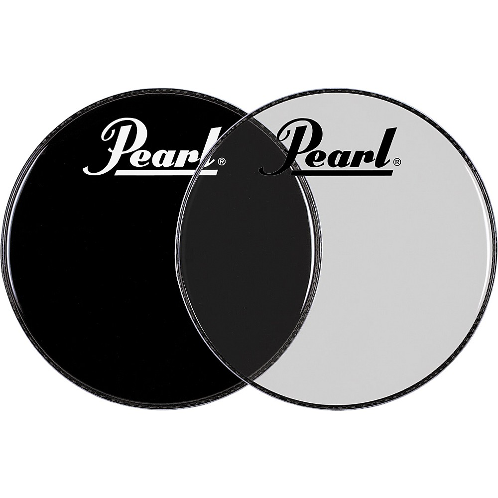 Pearl Logo Front Bass Drum Head Clear 22 in.