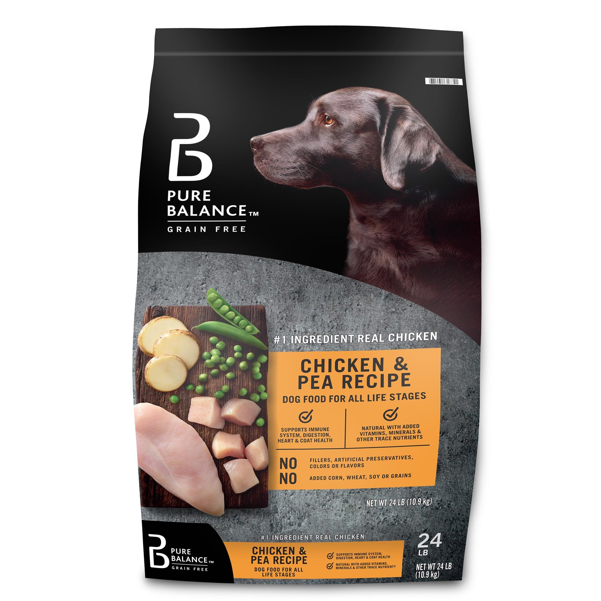 Chicken & Pea Recipe Dry Dog Food