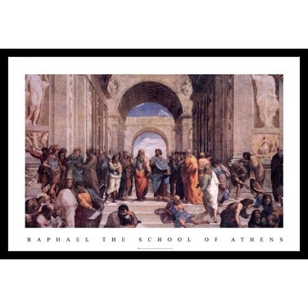 C.1511 Poster Print - The School of Athens c1511 Poster Poster Print by Raphael