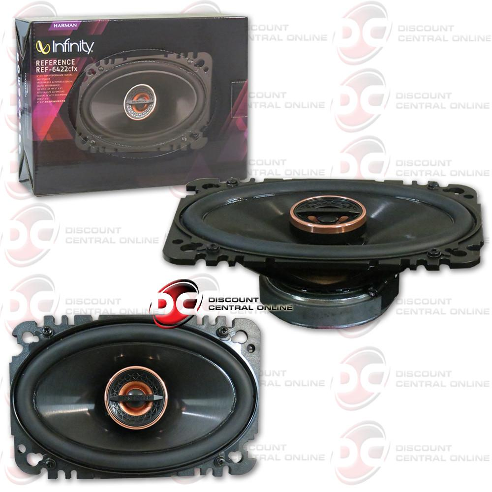 "Infinity REF-6422cfx 4x6"" Car Audio Speakers (Reference"