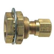 TRAMEC SLOAN 55608 Bulkhead,Airbrake,Brass/Steel