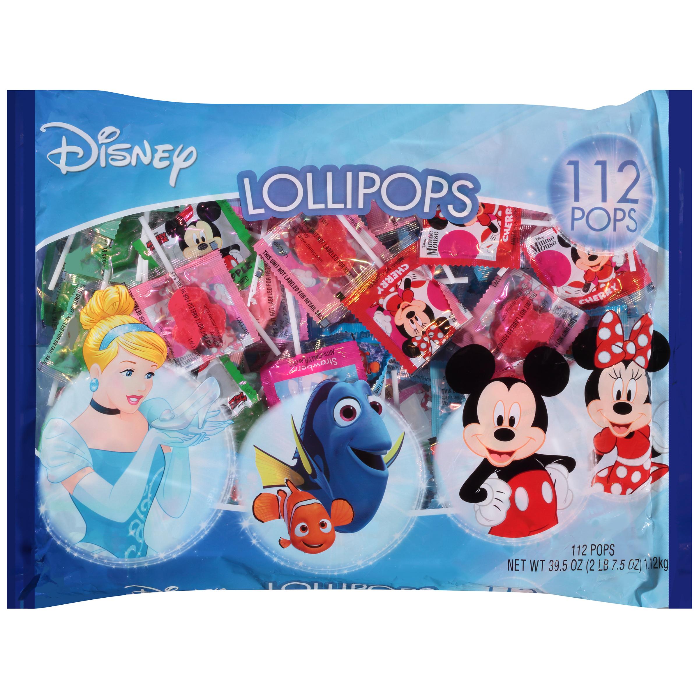 Disney Lollipops, 112 ct