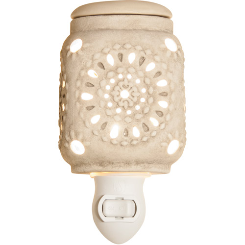 Better Homes and Gardens Lace-Punched Plug-In Warmer