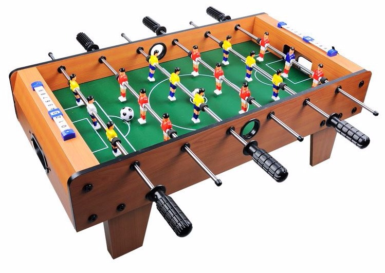 "27"" Tabletop Soccer Foosball Table Game w  Legs by"