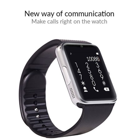 eaacbd158be3 Indigi® Wireless Bluetooth 2-in-1 Smart Watch   Phone w  Camera ...