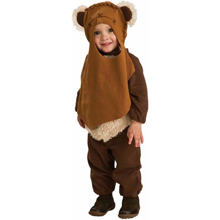 Star Wars Ewok Toddler Halloween Costume, Size 2-4 for Ages 1-2 - Star Wars Family Costumes