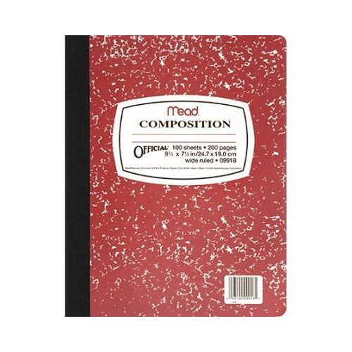 COMPOSITION BOOK FASHION COLORS SCBMEA09918-51 (pack of 51)