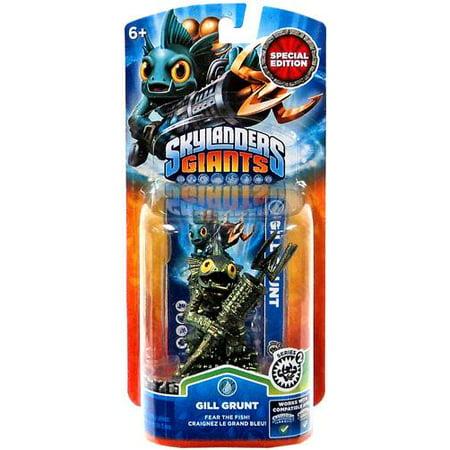 Skylander Boy (Skylanders Special Edition Gill Grunt Figure Pack [Metallic)
