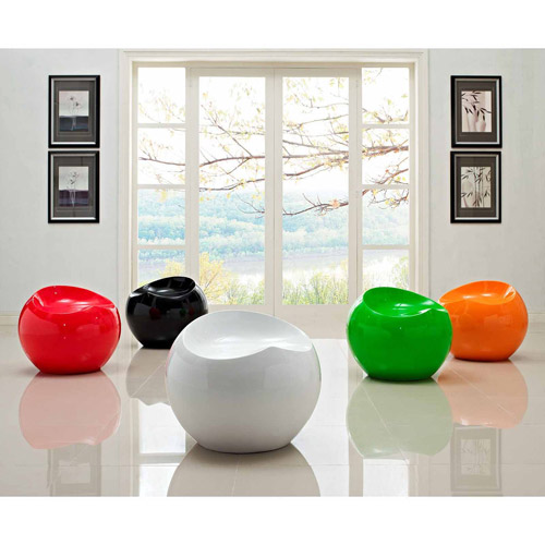 Modway Drop Stool in Multicolored