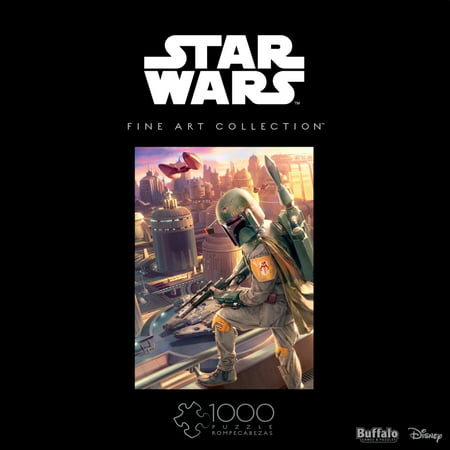 Star Wars Puzzle (Buffalo Games Star Wars Fine Art Collection Boba Fett 1000 Piece Jigsaw)