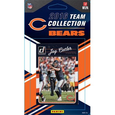 C & I Collectables 2345072197 Chicago Bears Donruss NFL Team Set - 2016