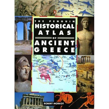 Hist Atlas - The penguin historical atlas of ancient greece: 9780140513356