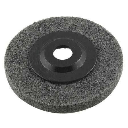 Metal Polishing 16mm Inner Diameter Nylon Grinding Abrasive Disc Wheel