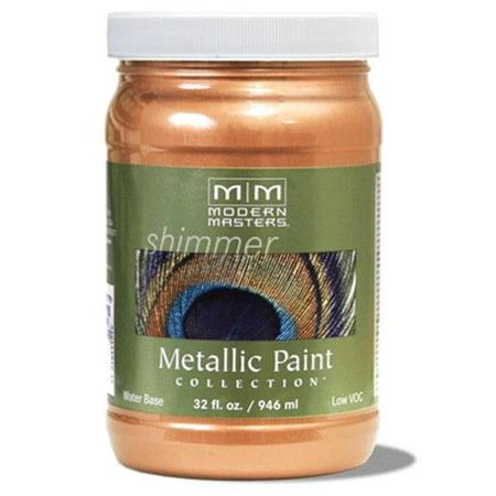 MODERN MASTERS ME703 1 qt. Camel Metallic Paint - Semi Opaque