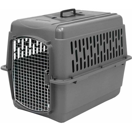 Petmate Doskocil Co  Inc  Pet Porter  Medium  Gray