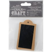 Chalk Craft Chalkboard and Craft Parcel Tags, 10pk
