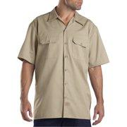 Dickies Big and Tall Men's Short Sleeve Twill Work Shirt