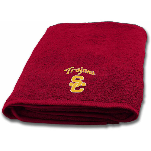 NCAA Applique Bath Towel, USC