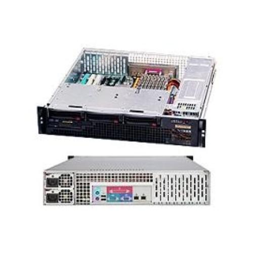 Supermicro 81505 Case Rackmount 2u Short Depth Chassis Redundant Psu 700w Low Profile Rear I/o Front4sata/sas Retail