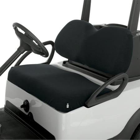 Golf Seat Blanket (Classic Terry Cloth Golf Cart Seat Saver Black)
