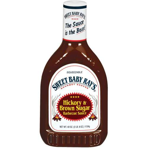 Sweet Baby Ray's Hickory & Brown Sugar Barbecue Sauce, 40 oz