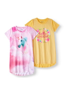 Product Image Cherokee Girl s Unicorn   Hello Sunshine 2 Pack Gowns d39429ebb