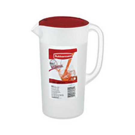 - Rubbermaid 1777154 Covered Pitcher, 2.25-Qt.