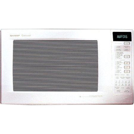 Sharp R930aw Carousel Countertop Convection Microwave Oven 1 5 Cu Ft 900w White