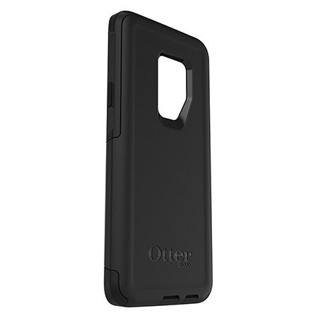 best value 95a09 432f5 OtterBox Commuter Series Case for Galaxy S9 Plus, Black