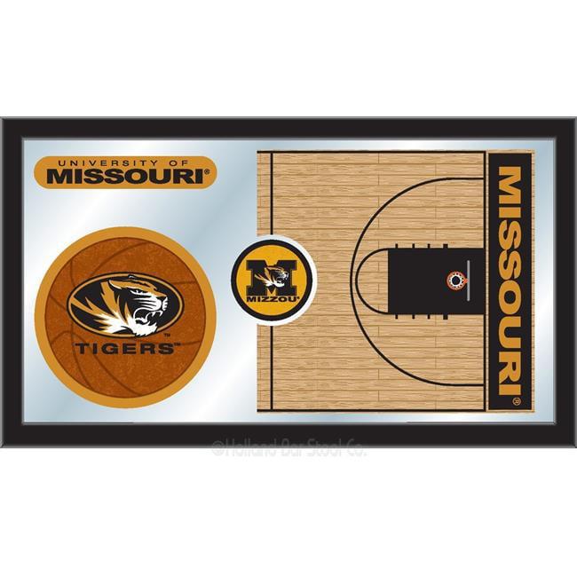 Holland Bar Stool MBsktMizzou Missouri 15 x 26 in. Basketball Mirror - image 1 of 1