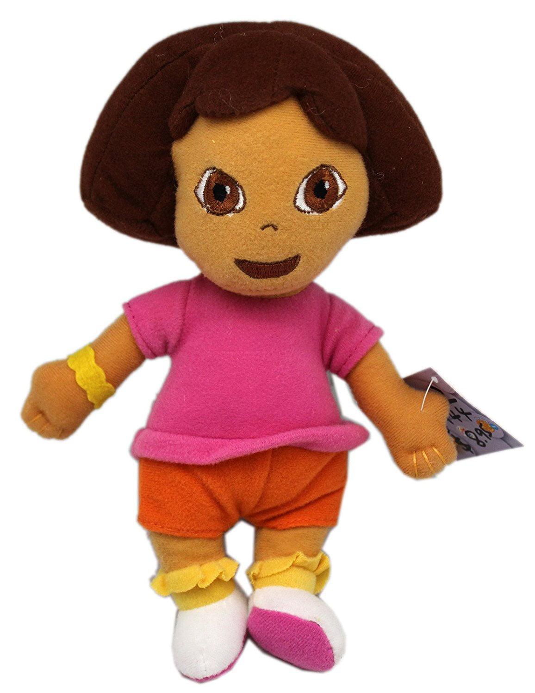Nick Jr's Dora the Explorer Mini Size Dora Plush Toy (9in) by
