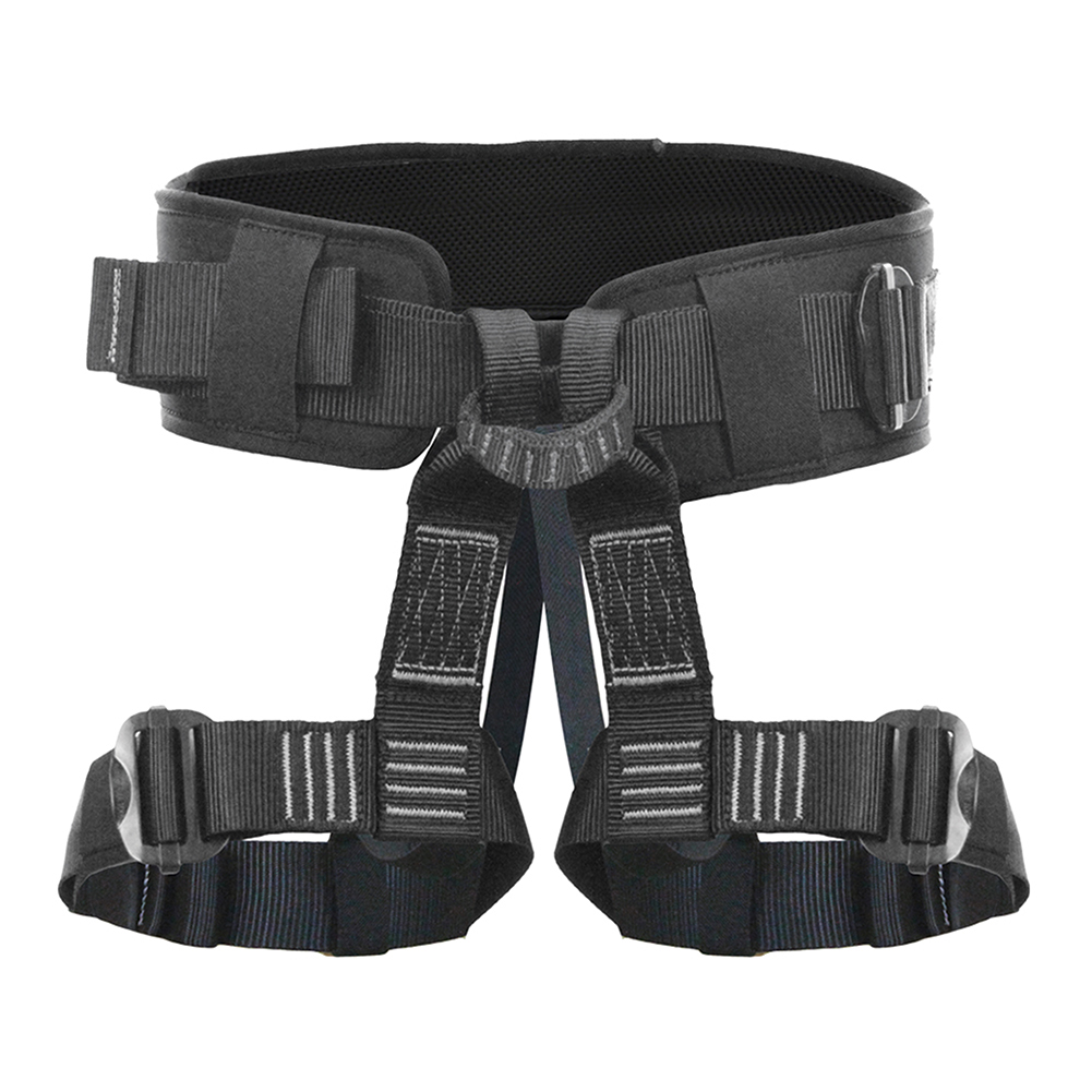 Made in USA Fusion Climb Tactical Padded Half Body Adjustable Bungee Harness