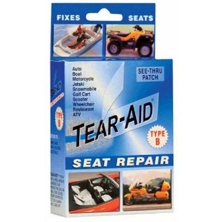 Tear Aid Vinyl Seat Repair Kit Blue Type B Walmart Com