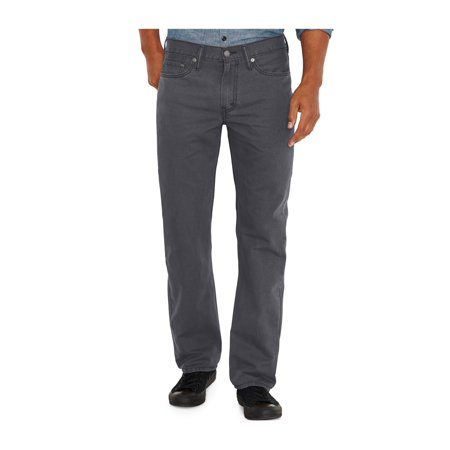 Levi's Mens 514 Straight Leg Jeans charcoal 30x32 - image 1 of 1