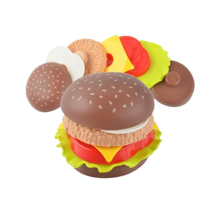 - Children's Play House Toy - Mini Burger Toy Set French Fries Cola Model Simulated Food Toy
