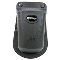 Fobus DSS1 Paddle Single Magazine Pouch Universal Polymer Black
