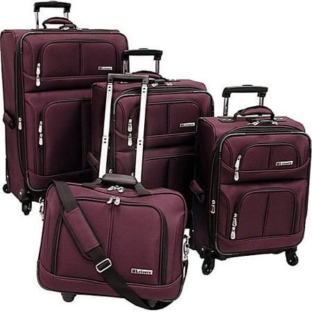 Leisure Luggage Leisure Lightweight 360 4-Piece Luggage Set ...