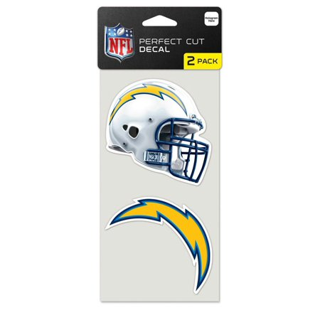 NFL Los Angeles Chargers Perfect Cut Decal 2 ct Pack