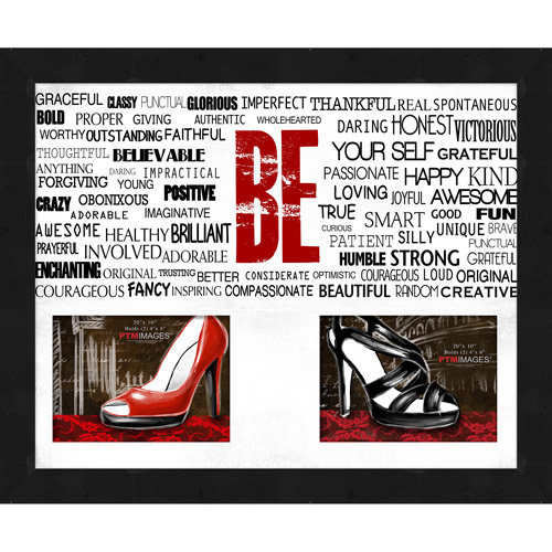 "Be Yourself VII 20"" x 16"" Collage Picture Frame"