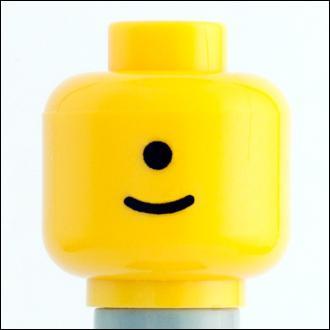 Citizen Brick Custom Printed Minifigure Parts Cyclops Loose Head