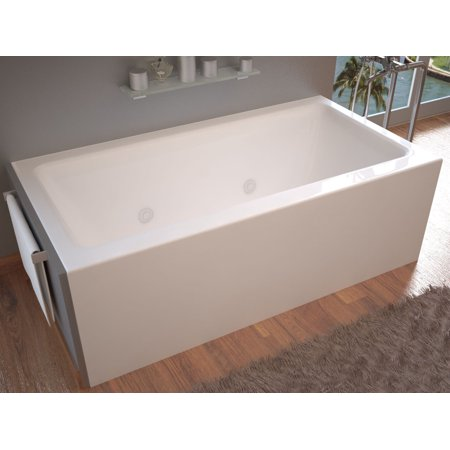 Madre 32 x 60 Front Skirted, Whirlpool Tub, Left Drain