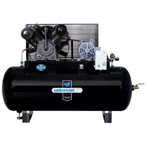 Industrial Air IH9929910 200V 10 HP 120 Gallon Oil-Lube H...