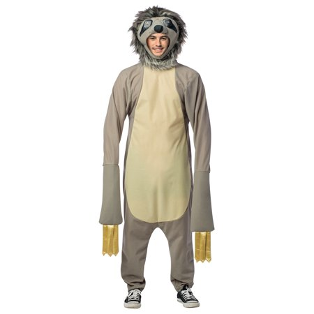 Sloth Adult Halloween Costume (Sloth Animal Halloween Costume)
