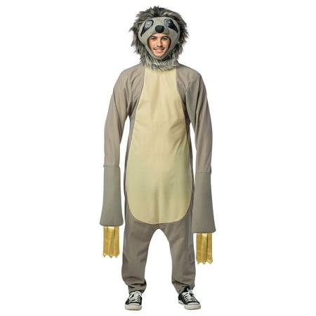 Sloth Adult Halloween Costume